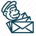 email, envelope, mailchimp, mailing icon