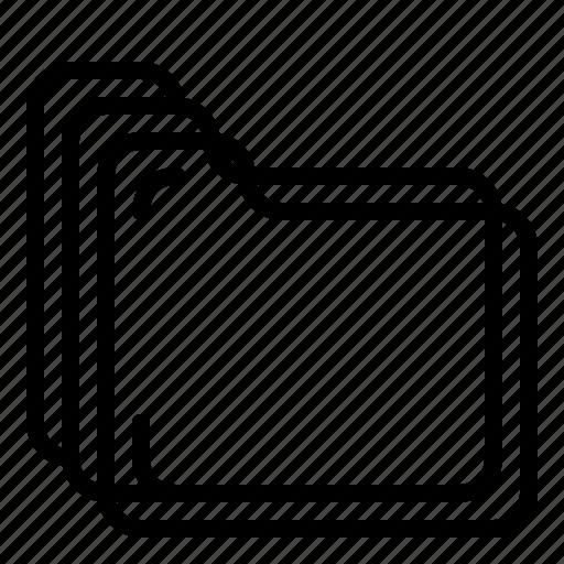 data, files, folders, seo, storage icon