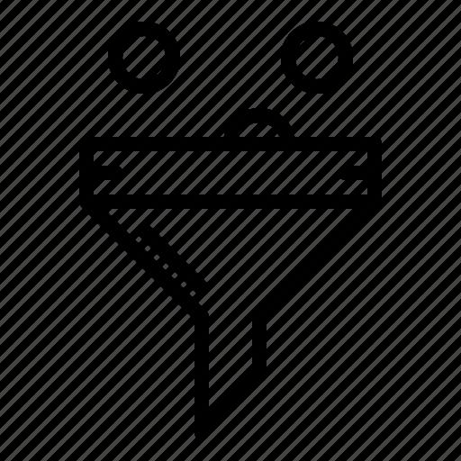 funnel, optimization, seo, services, support icon