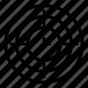 goal, marketing, optimization, seo, target icon