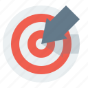 arrow, goal, success, target, top, accuracy, achievement, aim, ambition, aspiration, bulls, bullseye, business, center, circle, competition, concept, creative, cursor, dart, efficiency, eye, growth, marketing, mission, objective, office, optimization, point, profit, purpose, reach, search, seo, solution, strategy, targeting, win, winner, winning icon