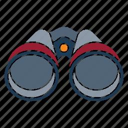 binoculars, marine, nautical, navy, ocean, sea, seaside icon