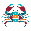 animal, crab, marine, nature, ocean, sea, seaside icon