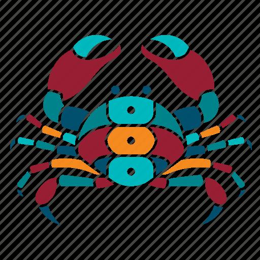 animal, crab, marine, nature, ocean, sea, seaside icon