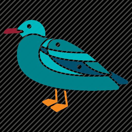 bird, marine, nautical, ocean, sea, seagull, seaside icon