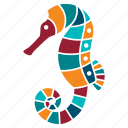 animal, marine, nature, ocean, sea, seahorse, seaside icon