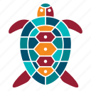 animal, marine, nature, ocean, sea, seaside, turtle icon