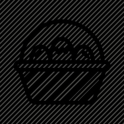 Basket, collection, decoration, easter, egg icon - Download on Iconfinder