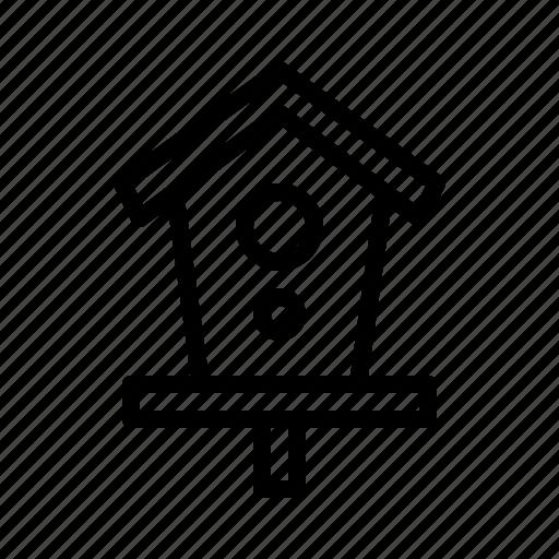 Bird, decoration, house, nest, park icon - Download on Iconfinder