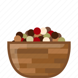 cooking, dish, mix pepper, orient, seasoning, spice, yumminky icon