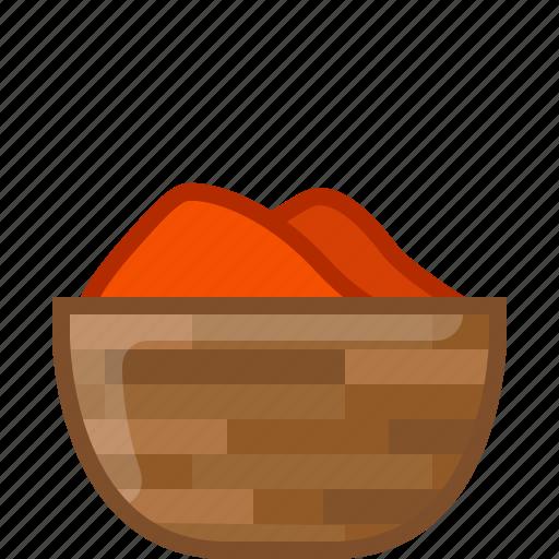chilli, cooking, paprika, pepper, seasoning, spice, yumminky icon
