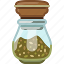 cooking, marjoram, oregano, pepper, seasoning, spice, yumminky icon