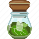 basil, cooking, herbs, pepper, seasoning, spice, yumminky icon