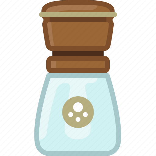 cooking, kitchen, pepper mill, seasoning, spice, yumminky icon
