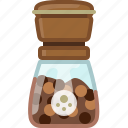 black pepper, cooking, pepper, pepper mill, seasoning, spice, yumminky icon