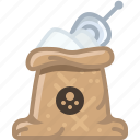 cooking, flour, salt, seasoning, spice, sweet, yumminky icon
