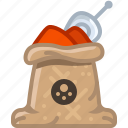 chilli, cooking, paprika, pepper, seasoning, spice, yumminky icon