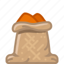 cinnamon, cooking, curry, orient, seasoning, spice, yumminky icon