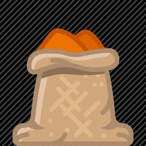 cinnamon, cooking, curry, orient, seasoning, spice, yumminky icon