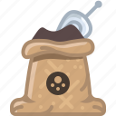 black spice, cooking, orient, sack, seasoning, spice, yumminky icon