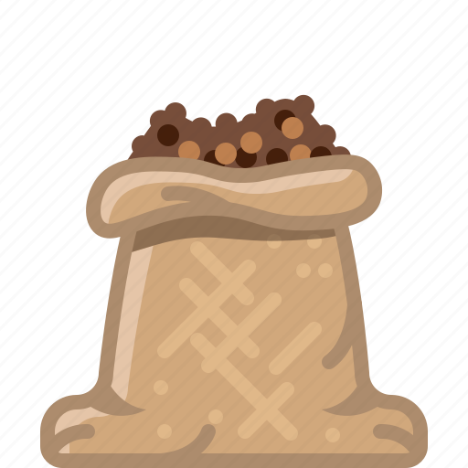 black pepper, cooking, orient, sack, seasoning, spice, yumminky icon