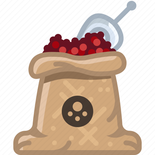 cooking, pepper, red pepper, sack, seasoning, spice, yumminky icon