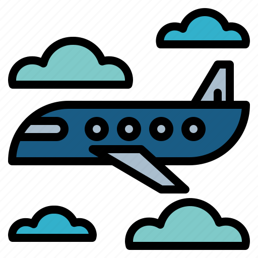 airplane, airport, flight, travel icon