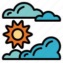 summer, sunny, warm, weather icon