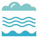breeze, climate, meteorology, windy icon