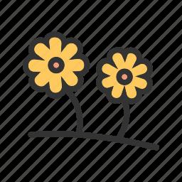 flower, green, leaf, nature, spring, summer, sunlight icon