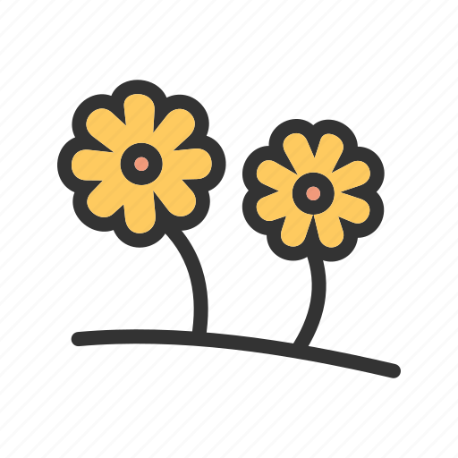 flower, green, leaf, nature, spring, summer, sunlight icon
