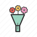 beautiful, beauty, bouqet, flower, green, nature, wedding icon