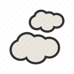 clouds, heaven, nature, sky, sunlight, weather icon
