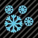 cold, nature, sky, snow, snowfall, white, winter