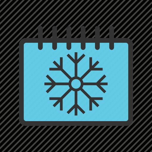 cold, landscape, nature, season, sky, snow, winter icon