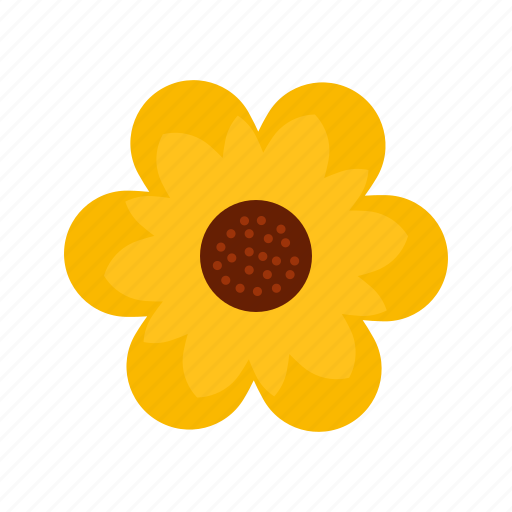 beautiful, daisy, flower, green, nature, petals, spring icon