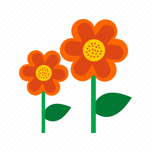 Beautiful, colorful, flowers, garden, nature, spring, summer icon - Download on Iconfinder