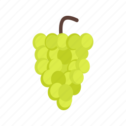 autumn, bunch, dark, food, grapes, nature, wine icon