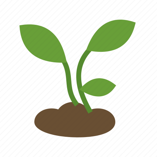 farming, green, growth, nature, plant, soil icon
