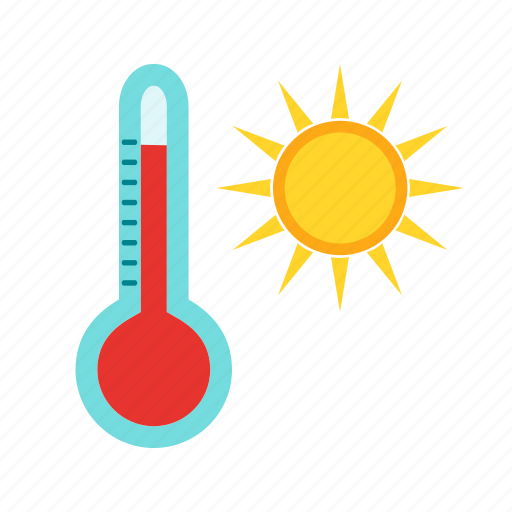 heat, hot, sky, summer, sun, warm, weather icon