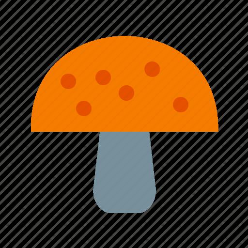eating, food, fresh, health, healthy, meal, mushroom icon