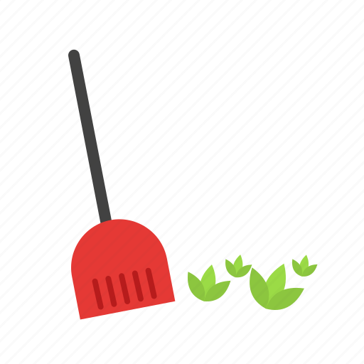 autumn, broom, fall, leaf, leaves, sweep, sweeping icon
