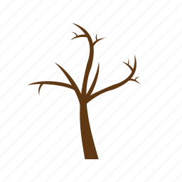 bare, branch, branches, nature, plant, tree icon