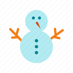 christmas, cold, holiday, snow, snowman, snowy, winter icon