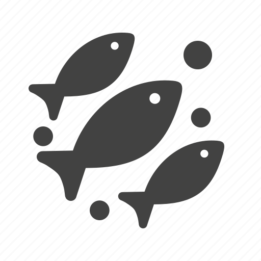 aquarium, fish, life, marine, sea, swimming, water icon
