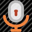 audio, keyhole, microphone, music, recording, security, speak