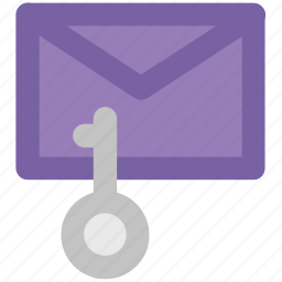 communication safety, digital security, email authentication, email secret, envelope, internet correspondence, key sign icon