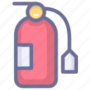 emergency, extinguisher, fire icon