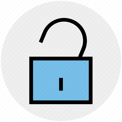 Padlock, password, secure, security, unlock, unlocked icon - Download on Iconfinder