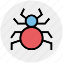 bug, protection, secure, security, security bug, virus icon